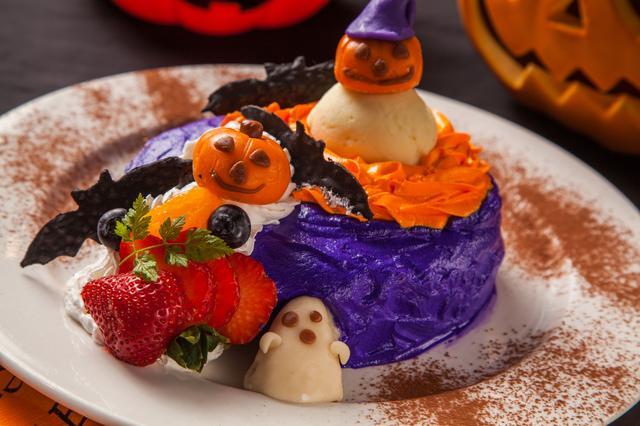 画像: 「~Trick or treat~ハロウィンパンケーキ」1,380円