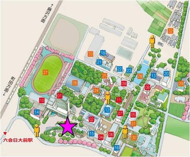 画像3: 脱出大学Presents学生応援企画!日本大学生物資源科学部にチームしゃちほこメンバーの約25メートルに及ぶ巨大ポスターが登場!