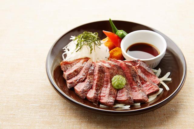 画像: 国産牛の赤身ステーキ 1,599円