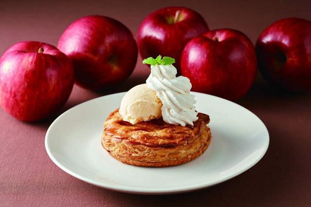 画像: 3. 林檎とカスタードのホットアップルパイ バニラアイス添え 599円