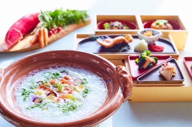 画像: 根菜が主役の特別朝食