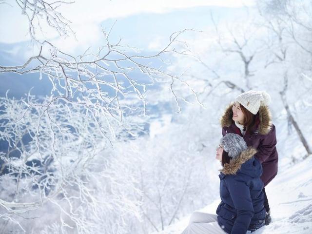 画像: 冬山であえて滑らない贅沢