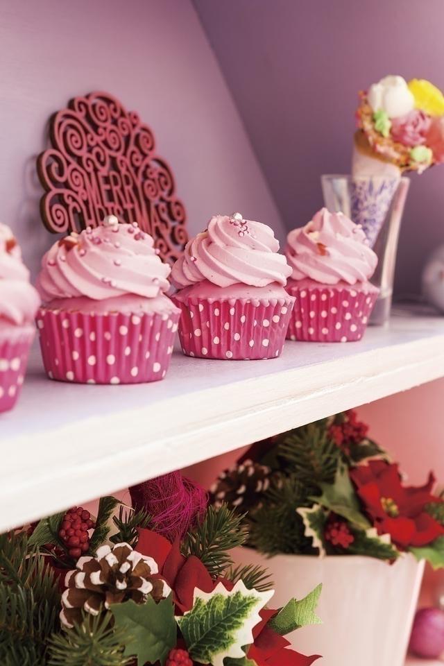 画像1: ピンク・クリスマス・スイーツ メニュー例