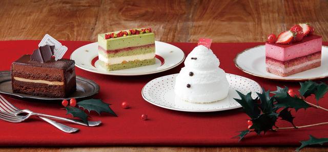 画像: 新作のクリスマスケーキ3種を予約する前にお試し!