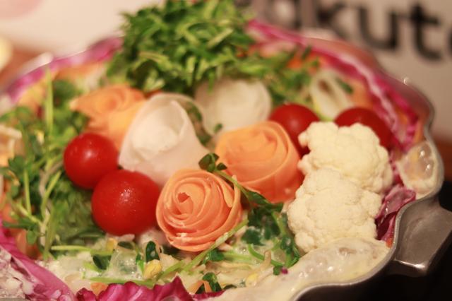 画像: ①おめでたい!発芽野菜ケーキ鍋