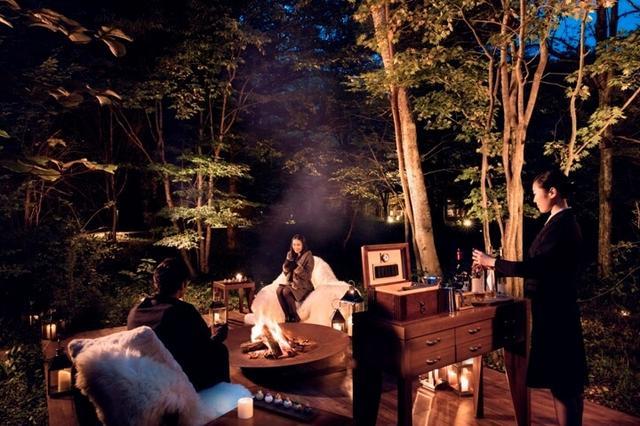 画像: 冬の軽井沢だからこその楽しみ「焚き火アペロ」