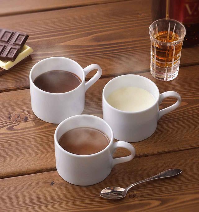 画像: 商品名:「濃厚ガーナホットチョコレート~香るブランデー添え~」