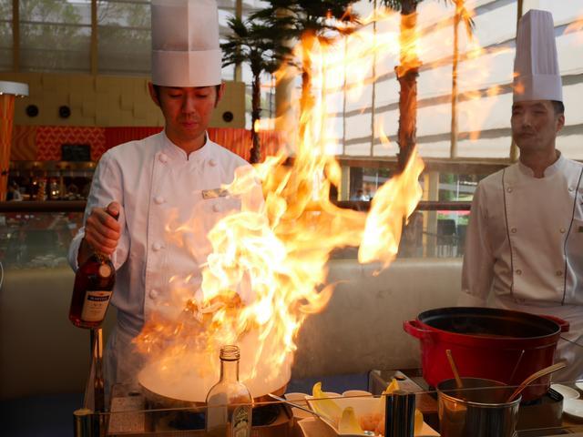 画像: 迫力のある炎です!