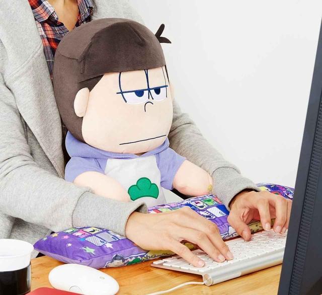 画像: おそ松さん PCクッション 一松