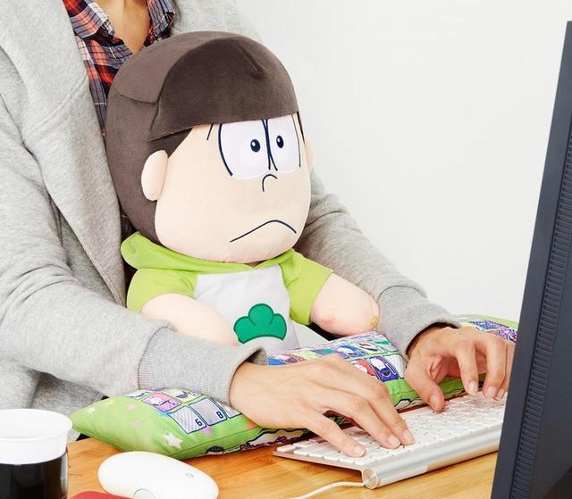 画像: おそ松さん PCクッション チョロ松