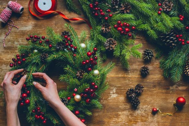 画像: 毎週末開催!グリーンに溢れるクリスマスイベント♪