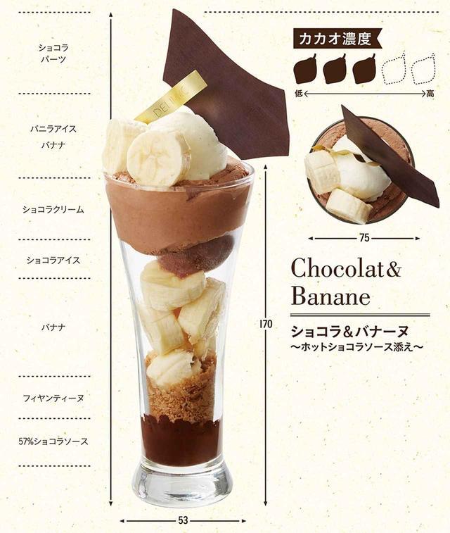 画像1: 「ショコラ&バナーヌ」~ホットショコラソース添え~