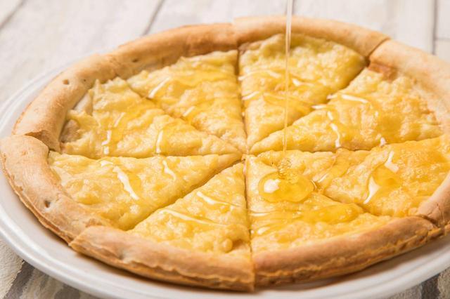 画像: ハニーチーズピザ