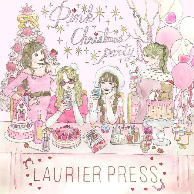 """画像: ピンクのクリスマスパーティ開催♡ """"かわいすぎてツラい""""空間にご招待! - LAURIER PRESS(ローリエプレス)"""