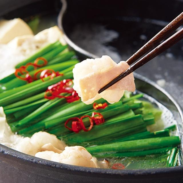 画像: 金のもつ鍋 テールスープをベースとしたスープに5種の野菜をじっくり煮込み引き出した甘味とアクセントに加えた辛みが食欲をそそる塩味のスープ。