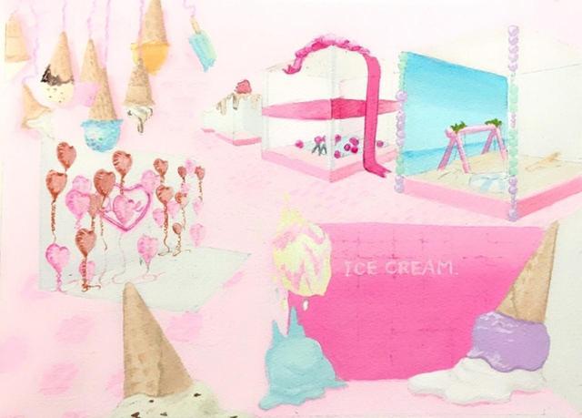 画像2: 食べないアイス?最先端フォトジェニック王国『東京アイスクリームランド』開催決定!