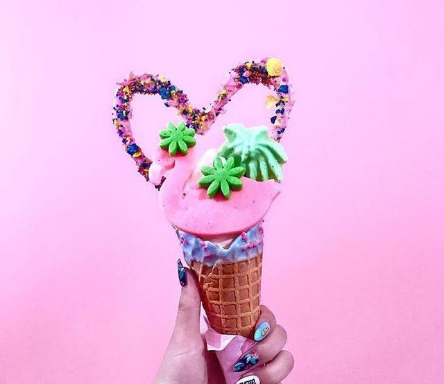 画像1: 原宿で人気のエディーズアイスクリームとコラボ決定!