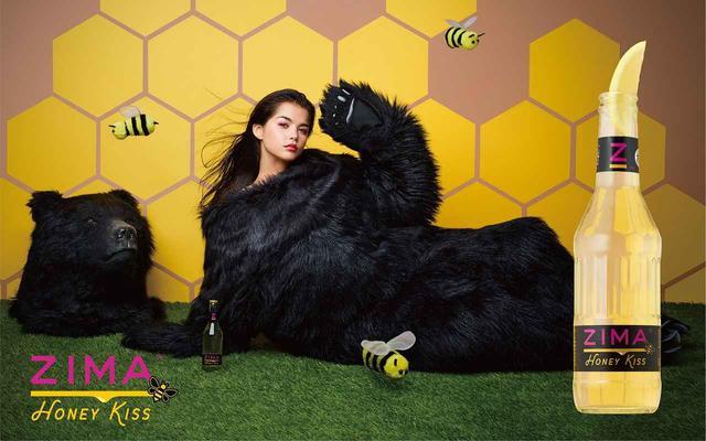 画像: はちみつ女子必見!女子憧れの甘いキス味のZIMA「ZIMA Honey Kiss」発売決定!