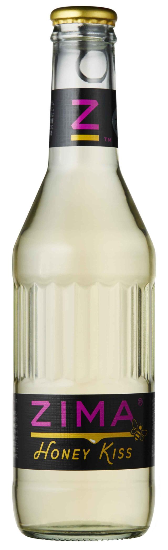 画像: 製品名:ZIMA Honey Kiss(ジーマ ハニーキス) 出荷開始日:11月27日(月)弊社出荷開始 数量限定品 *在庫なくなり次第、販売終了 発売地域:全国 品目/アルコール度数:リキュール/4.5% 容量:275ml (ワンウェイ瓶) 希望小売価格:230円(税抜き) 製造、販売:モルソン・クアーズ・ジャパン株式会社 販売場所:全国コンビニエンスストア、スーパーマーケット、料飲店他 *一部お取扱いのない店舗がございます