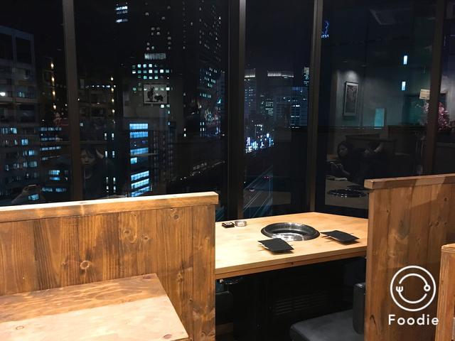 画像1: 夜景を見ながら焼肉デート★