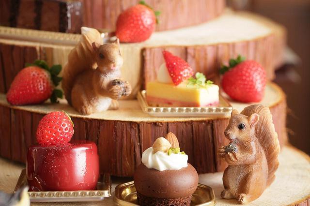 画像4: 恋する季節到来!いちごとチョコレートのハーモニーを楽しめる『バレンタイン デザートブッフェ~恋する苺 and The Chocolate Factory~』