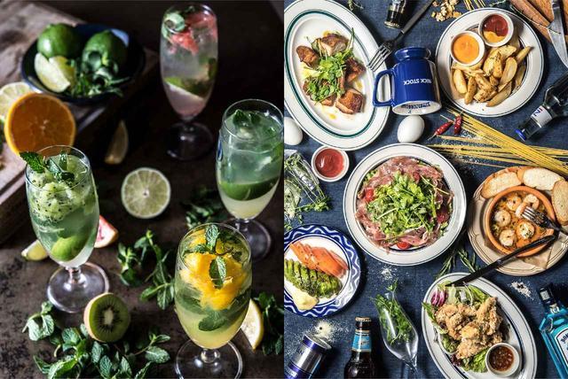 画像: ディナーは、お酒に合う小皿料理を豊富にご用意。バルスタイルでお楽しみいただけます。