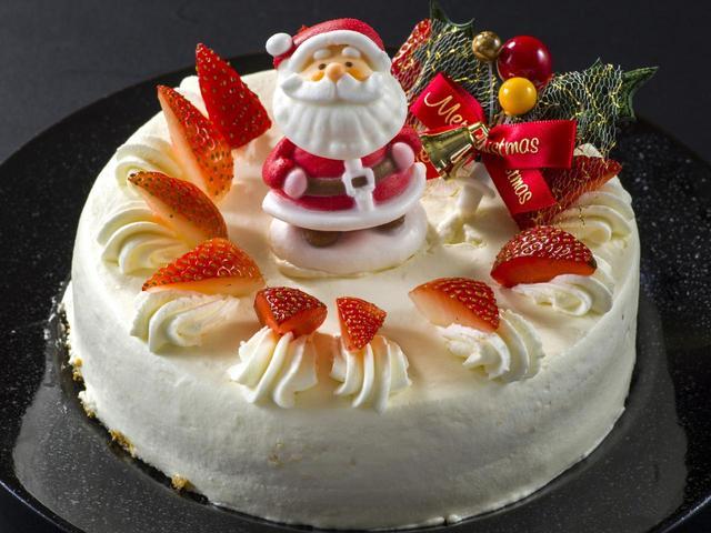 画像: いちごケーキ