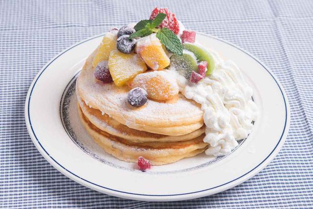 画像: 【NEW】フルーツミックスパンケーキ