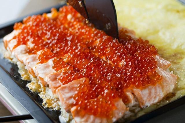 画像1: 「冬のチーズ鮭いくら。コース」 お一人様4,000円(税抜)