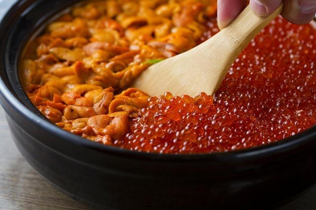 画像1: 「冬のうにいくら土鍋飯コース」お一人様6,000円(税抜)