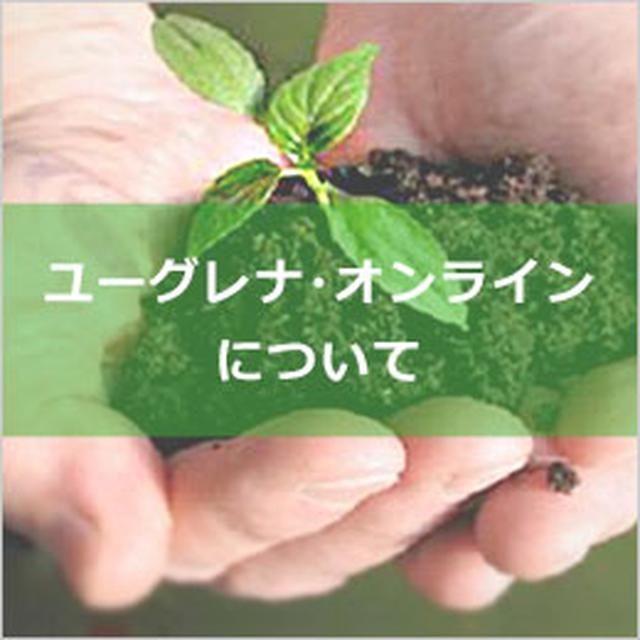 画像: ユーグレナ・オンライン euglena online トップページ