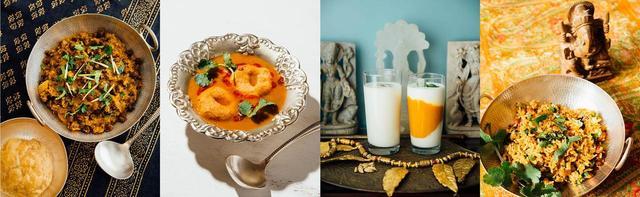 画像2: 肉や魚を使わなくても美味しい! 本格ベジタリアン南インド料理レシピブック発売