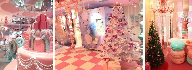 """画像1: """"世界一かわいい""""プリのお店『moreru mignon』が期間限定でクリスマス仕様に!"""