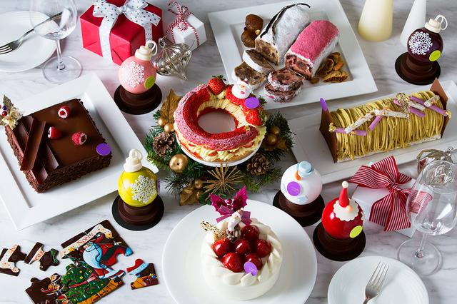 画像: 【N.Y.ラウンジブティック】クリスマスケーキ&スイーツ コレクション2017 ご予約受付中|ホテル インターコンチネンタル 東京ベイ