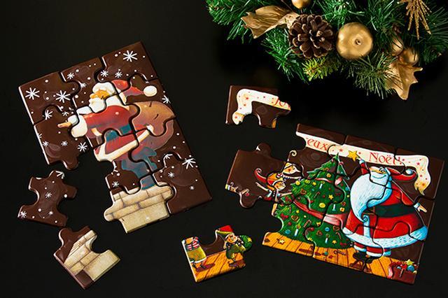 画像: チョコレート パズル/18cm×12.5cm:3,200円(税抜き)