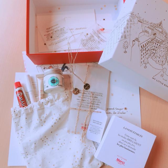 画像: 箱を開けるとこんなに可愛いアイテムが・・♡