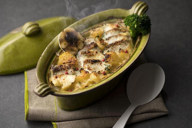 画像: ◆真鯛のグラタン 西京味噌風味