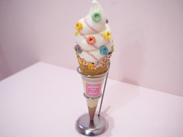 画像: ゆめかわソフトクリーム 700円(税抜)