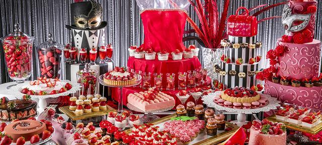 画像: 「いちごに恋するマスカレード」ストロベリーデザートブッフェ | お台場のホテルなら【ヒルトン東京お台場】