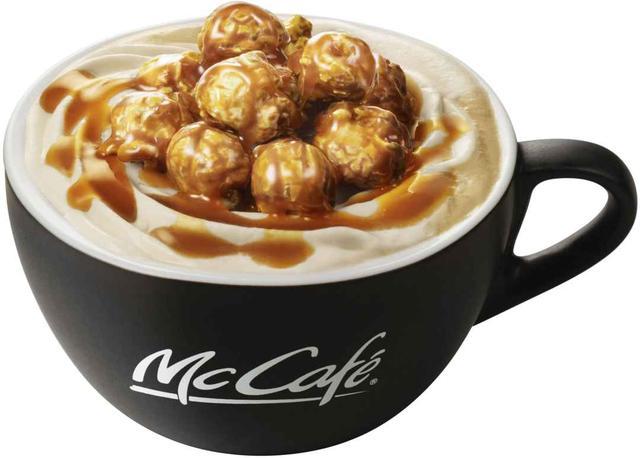 """画像4: """"McCafé by Barista""""にキャラメルポップコーン尽くしの見た目も楽しいドリンクが初登場!"""