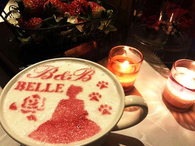 画像2: 美女と野獣のカフェが「美女と野獣の苺フェア」開催