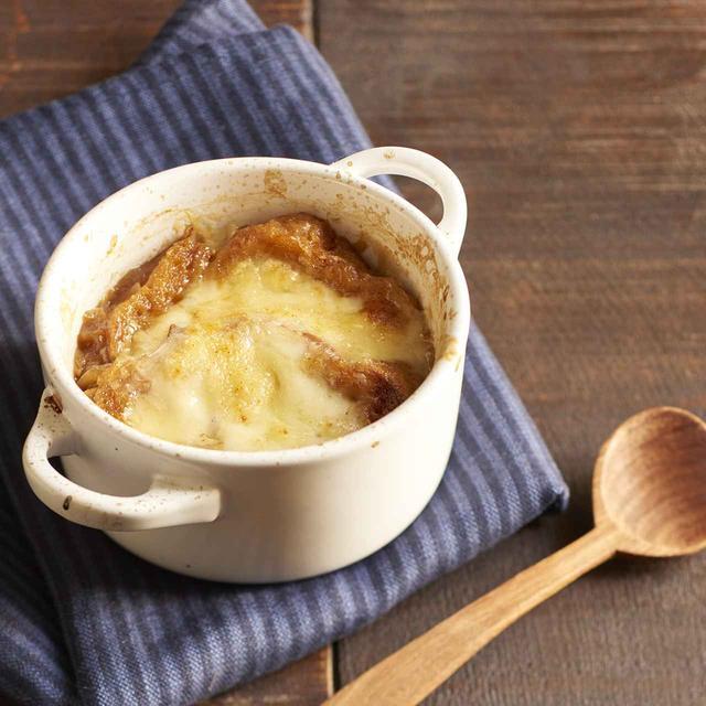 画像: オニオングラタンスープ