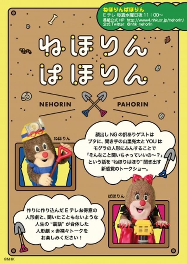 画像1: NHK Eテレ「ねほりんぱほりん」からぎゅっと抱きしめたいもっちもちなぬいぐるみが発売へ!
