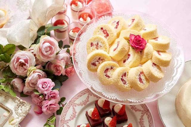 画像: いちごとバナナのロールケーキ(イメージ)
