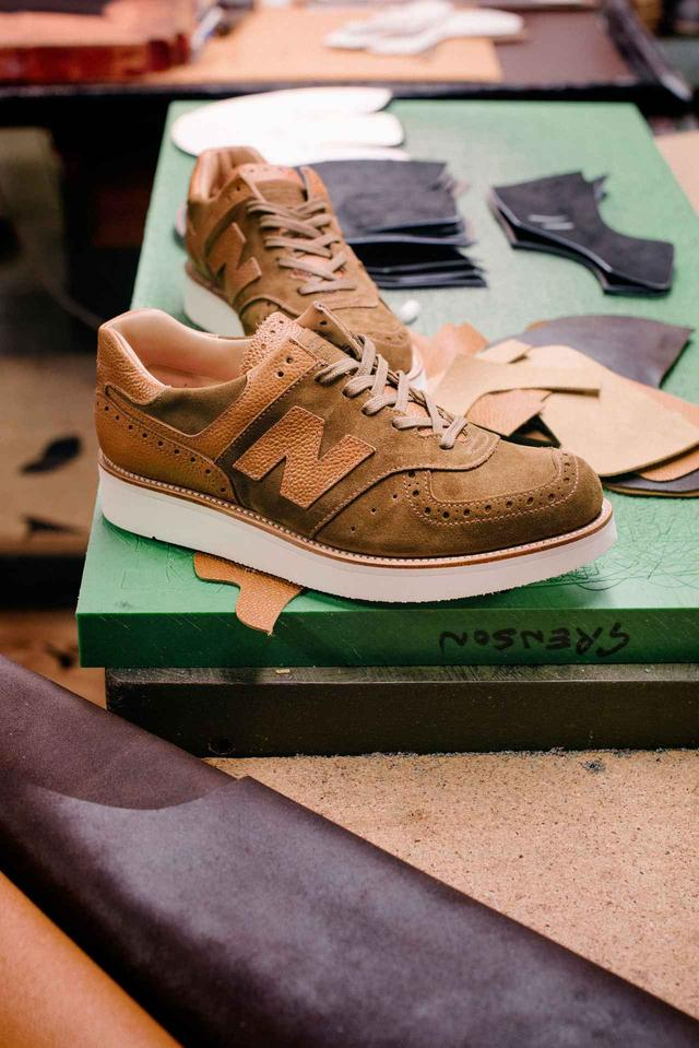 画像5: Grenson×new balanceコラボレーション!高級革靴をイメージした「576」が発売