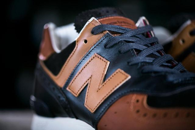 画像3: Grenson×new balanceコラボレーション!高級革靴をイメージした「576」が発売