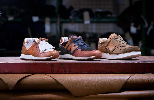 画像1: Grenson×new balanceコラボレーション!高級革靴をイメージした「576」が発売