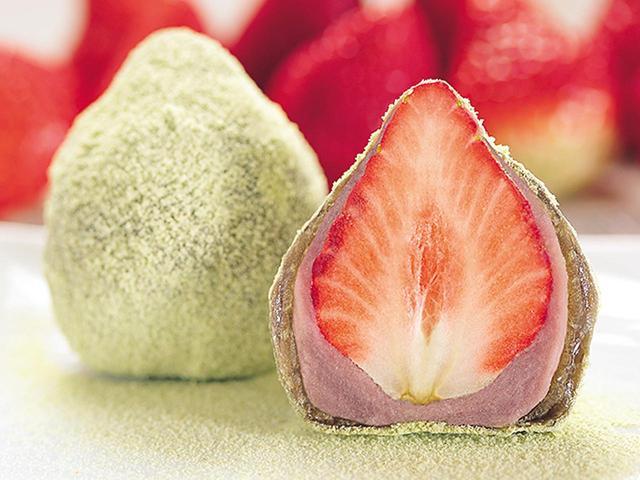 画像: 毎年完売の大人気商品「イチゴわらびもち」。いよいよ発売開始です。