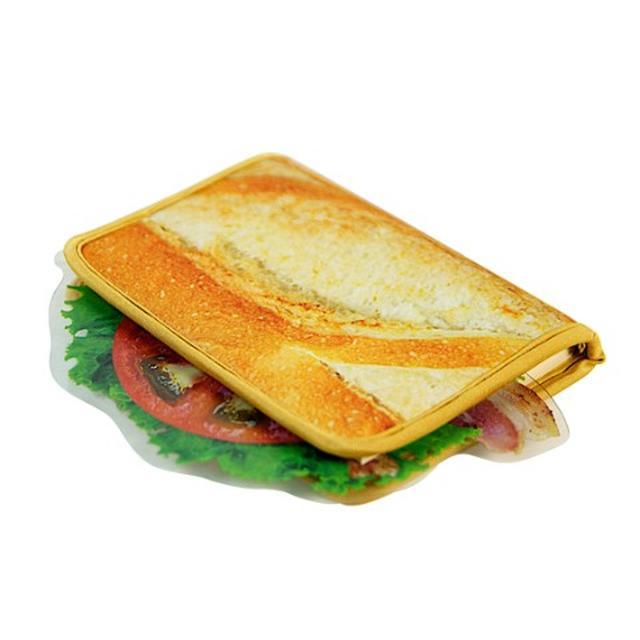画像3: 一見、サンドイッチ。だけど、これブックカバーなんですw