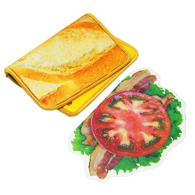 画像4: 一見、サンドイッチ。だけど、これブックカバーなんですw
